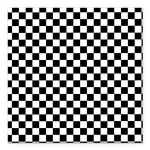 black and white checkered car magnets cafepress. Black Bedroom Furniture Sets. Home Design Ideas