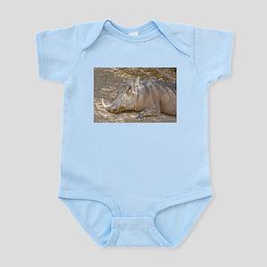 Warthog In Repose Infant Bodysuit