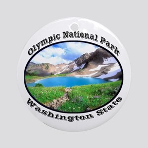 Olympic National Park Ornament (Round)