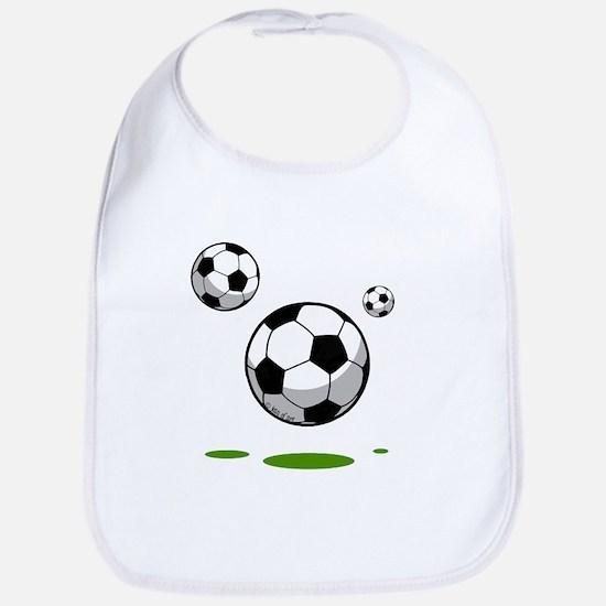 Soccer (8) Cotton Baby Bib