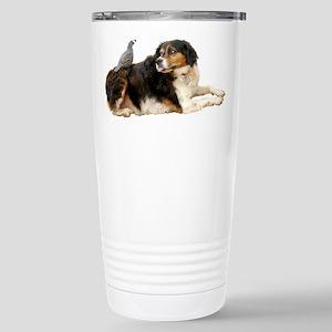 Quail Dog Stainless Steel Travel Mug