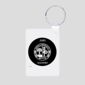 AMG Maestro Aluminum Photo Keychain
