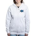 Blue Triple Moon Sweatshirt