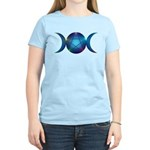 Blue Triple Moon T-Shirt