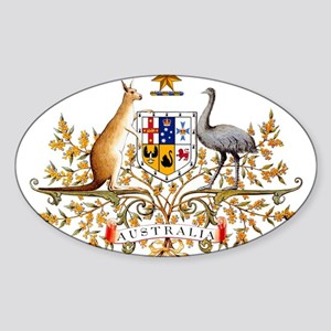 Australia Coat of Arms, coat of arms,flag, Sticker