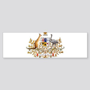 Australia Coat of Arms, coat of arm Bumper Sticker