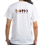 Fox & Chix White T-Shirt