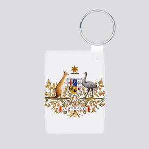 Australia Coat of Arms, coat of arms,fla Keychains