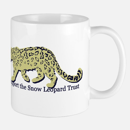 Unique Snow leopard Mug