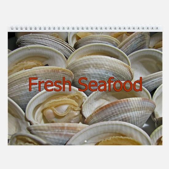 Seafood Wall Calendar
