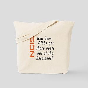 NCIS - Gibbs' Boats Tote Bag