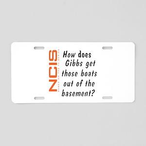 NCIS - Gibbs' Boats Aluminum License Plate