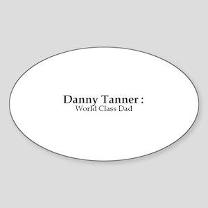 Danny Taner Oval Sticker