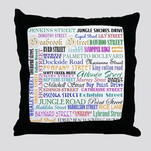 Edisto Streets Design: Throw Pillow