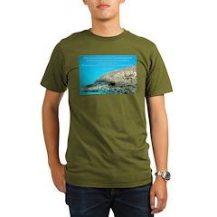 Grow and Glow Organic Men's T-Shirt (dark)