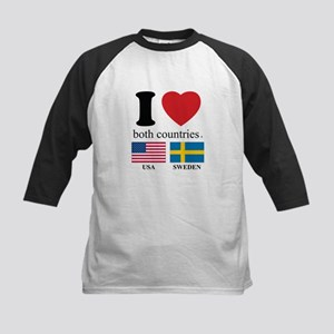USA-SWEDEN Kids Baseball Jersey