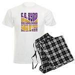 C.E. Byrd Reunion Type only Men's Light Pajamas