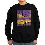 C.E. Byrd Reunion Type only Sweatshirt (dark)