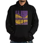 C.E. Byrd Reunion Type only Hoodie (dark)