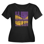 C.E. Byrd Reunion Type only Women's Plus Size Scoo
