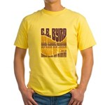 C.E. Byrd Reunion Type only Yellow T-Shirt