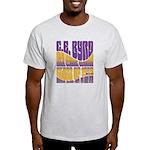 C.E. Byrd Reunion Type only Light T-Shirt