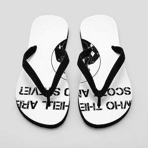 Scott and Steve Flip Flops