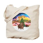 XmasMusic#2-GuineaPig#3 Tote Bag