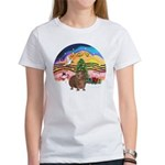 XmasMusic#2-GuineaPig#3 Women's T-Shirt