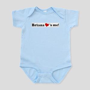 Briana loves me Infant Creeper