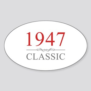 1947 Classic Sticker (Oval)
