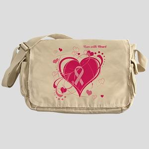 Run With Heart Messenger Bag