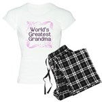 World's Greatest Grandma Women's Light Pajamas