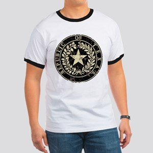 Republic of Texas Seal Distre Ringer T