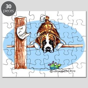 Saint Bernard Fish Puzzle