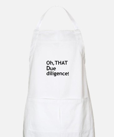 Due Diligence 2 Apron
