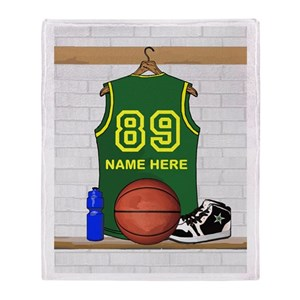 800fc776a33 Basketball Ball Blankets - CafePress
