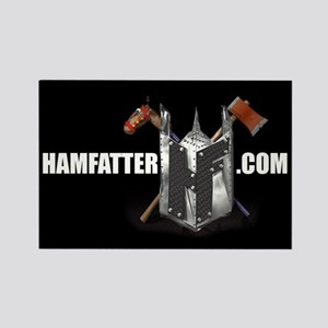 HAMFATTER.COM Rectangle Magnet