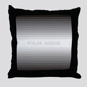 Film noir Throw Pillow