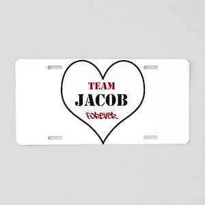 Team Jacob Aluminum License Plate