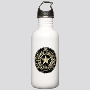 Republic of Texas Seal Distre Stainless Water Bott