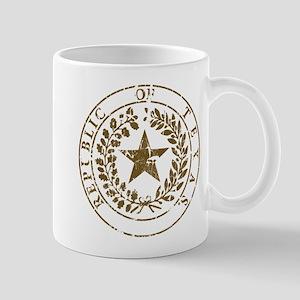 Republic of Texas Seal Distre Mug