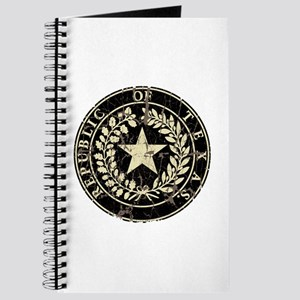 Republic of Texas Seal Distre Journal