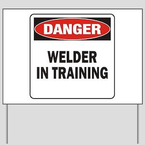 Welder Yard Sign