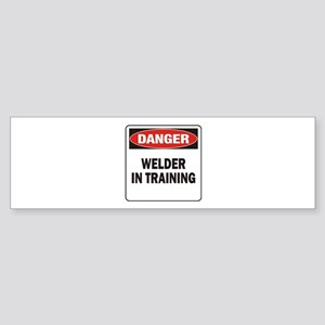 Welder Sticker (Bumper)