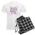World's Greatest Mother-in-Law Men's Light Pajamas