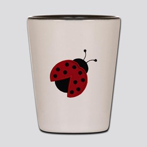 Ladybird Shot Glass