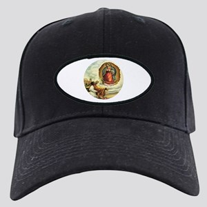 Our Lady of Guadalupe and Juan Diego Black Cap