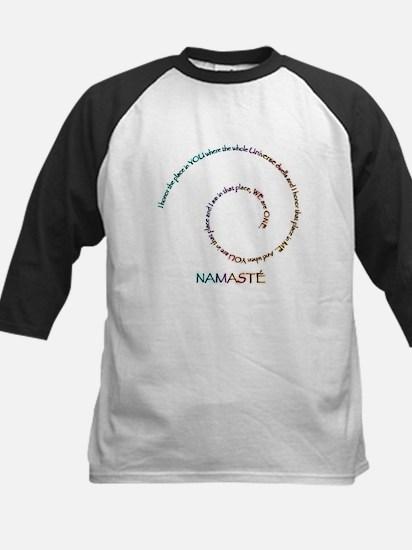 Meaning of Namaste Kids Baseball Jersey