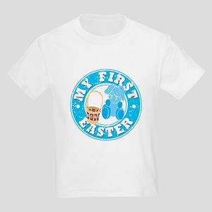My First Easter - Blue Kids Light T-Shirt